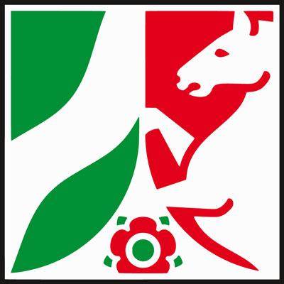 Wappenzeichen Nordrhein-Westfalen