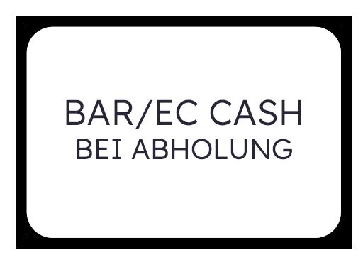 Bar/EC Cash bei Abholung