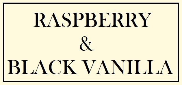 Raspberry & Black Vanilla