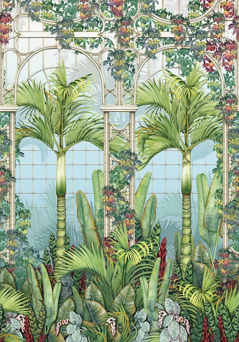 O&L  Mansfield Park Palm House Paneel