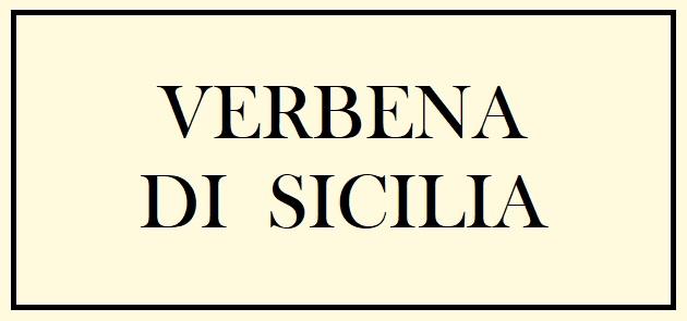 Verbena di Sicilia